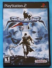 Soul Calibur III (Sony PlayStation 2, 2005) COMPLETE WITH DEMO DISK! WORKS!