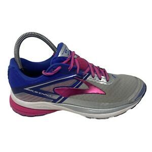 Brooks Ravenna 8 Womens Size 6 Gray Athletic Running Shoes