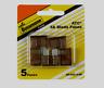 "Bussmann Buss 5 amps 32V ATC Automotive 0.8"" Blade Fuse 5pk BP/ATC-5-RP NEW!!!!!"
