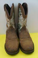 Cabelas Cowboy Boots Pinedale Square Toe Boots Size 13 D