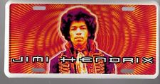 JIMI HENDRIX ART LICENSE PLATE, Painted and Made in USA by the Artist JH2