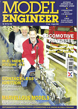 Model Engineer Magazine - Aug 2004 - Angel Snowman's Organ. Small Lathe Milling.
