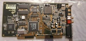 Classic Creative Sound Blaster AWE64 Gold . tested and working MODEL CT4390