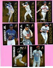 1995 Pinnacle Baseball Complete Set #1-150 - Derek Jeter Chipper Jones Nomo