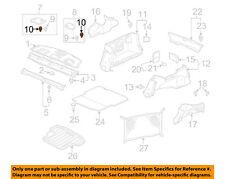 HONDA OEM Interior-Rear-Speaker Grille Clip 91562S0XA01