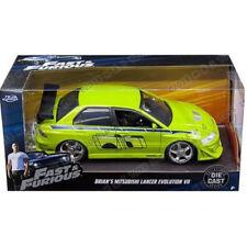 Jada 2002 Mitsubishi Lancer EVO VII Fast & Furious Brian's Green 1:24 99788