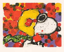 """Tom Everhart """"Synchronize My Boogie / Morning"""" SNOOPY """"PEANUTS"""" Lithograph"""