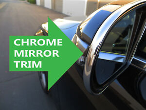 FOR CADILLAC 2000-2018 New Side Mirror trim chrome molding - cadillac