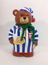 Charming Neiman Marcus 1997 Teddy Bear Cookie Jar