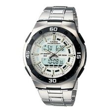 Casio AQ-164WD-7AV White-Silver Digital Analog Sports Watch Retail Box Included