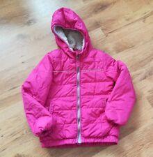 ♥ஜ♥ Gr.122 pinkfarbene  Winterjacke mit warmen innenfutter für Mädchen ♥ஜ♥