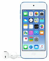 Apple iPod Touch 6th Generation Blue (16 GB) Lastest Model MP4 Refurbished