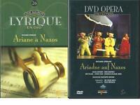 DVD OPERA ARIADNE AUF NAXOS / ARIANE A NAXOS AVEC LIVRET RICHARD STRAUSS