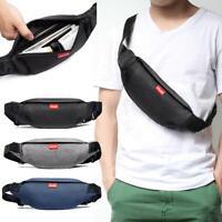 Waist Bag Men Fanny Chest Belt Phone Pack Outdoor Sport Male Shoulder Cross-body