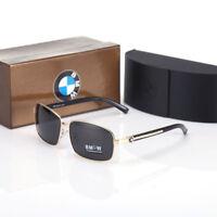 NEW2018 BMW Brand Men's Sunglasses Polarized Classic UV400 Men Glasses Brand Box