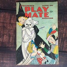 Children's Play Mate Magazine October 1948 Vintage Stories, Crafts, Recipes