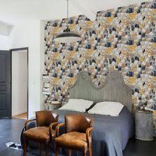 NewPVC Self-adhesive Brick PatternRockStones Printed Wallpaper Modern Room Decor
