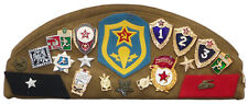 Soviet Soldiers pilotka hat badges pins & patches Army Russian Military surplus