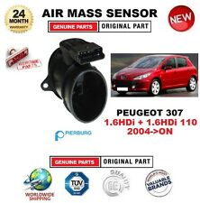 FOR PEUGEOT 307 1.6HDi + 110 2004-ON AIR MASS SENSOR PIERBURG 5-PIN with HOUSING