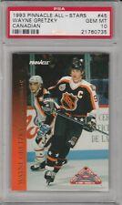 1993-94 Pinnacle All-Star Wayne Gretzky Los Angeles Kings #45 Hockey Card PSA 10