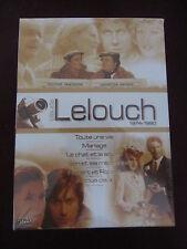 Claude Lelouch 1974-1980: Toute une vie + Mariage.., coffret 6DVD, Comédie, NEUF