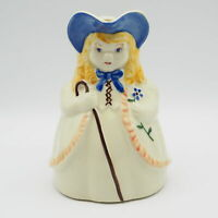 Vintage Circa 1940 Shawnee Bo Peep Pitcher    Has Been Repaired