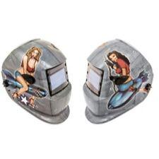 Titan Tools 41288 Solar Powered Auto Darkening Welding Helmet, Pin Up Girls