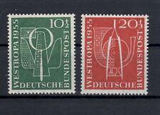 Bundesrepublik Deutschland 1955 MiNr.- 217+218 Postfrisch