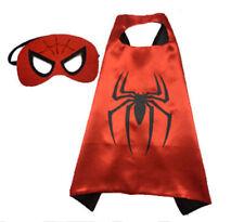 Halloween Costume Superhero Spiderman Cape and Mask for Kids Boy / Girl