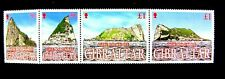 917 ROCK OF GIBRALTAR WITH PIECES OF THE ROCK ON THE STAMPS MNH OG (SEE NOTE)