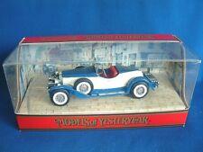 MATCHBOX MODELS OF YESTERYEAR Y14 - 1931 STUTZ BEARCAT - NEW