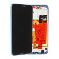 Original Huawei P20 LITE (ANE-L21) Display LCD mit Rahmen und Akku - Blau Blue