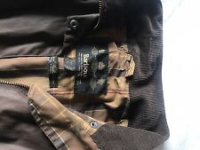 Barbour Womens Wax Jacket Brown Size 12