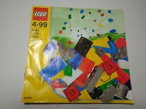 Instructions LEGO 4028 4029 4400 Instructions
