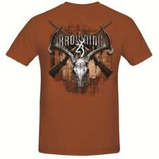 Browning Mens Classic Rifles Rusty Bronze T-Shirt
