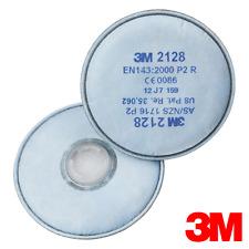 10 PAIA - 3M 2128 vapori organici & ACIDO GAS filtri del particolato 6000/7000 Maschere