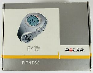 Polar F4 Women's Heart Rate Monitor Watch (Blue Ice) New Other! Open Box!