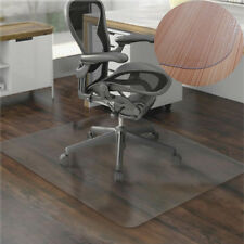 "36x48""Hard Wood Floor Home Office PVC Floor Mat Square for Office Rolling Chair"