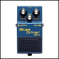 Boss BD-2 Blues Driver Guitar Effects Pedal New
