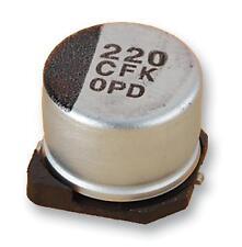 Condensadores-aluminio electrolítico-Cap ALU Elec 10UF 25V SMD-Paquete de 5