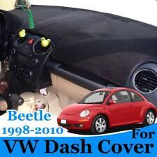 For Volkswagen Vw Beetle 1998 2010 Dash Cover Mat Dashmat Black Carpet Fits 2004 Volkswagen Beetle
