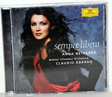 CD ANNA NETREBKO - Sempre Libera - Claudio Abbado / Mahler Camber Orchestra