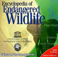 ENCYCLOPEDIA OF ENDANGERED.WILDLIFE.EXTINCT/THREATENED SPECIES.SHIPS FAST / FREE