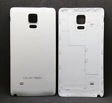 White Battery Back Door Housing Cover Replacement Compatible Galaxy Note 4 N910