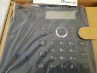 1x AudioCodes Lync 420HD IP Phone PoE 420HDG Black P/N GGWV00487