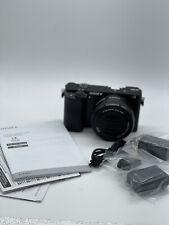 BRAND NEW Sony Alpha A6000 24.3MP Mirrorless SLR - Black (16-50mm Power Zoom)