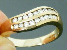 9ct Gold 0.35ct Diamond Eternity Ring size M
