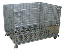 """40"""" x 48"""" x 30"""" Material Handling Industrial Parts Baskets, NEW"""