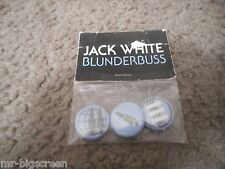JACK WHITE - BLUNDERBUSS - ORIGINAL 3 BUTTON SET