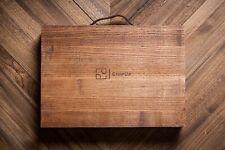Poker Chip Case - 500 Chips Capacity, Handmade Wooden Case